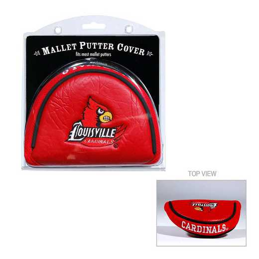 24231: Golf Mallet Putter Cover Louisville Cardinals